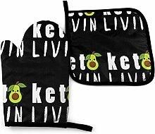Bikofhd Lustige Avocado Keto Foods Print