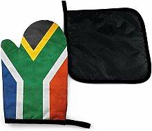Bikofhd Neuheit Südafrika Flagge Vintage
