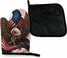 Bikofhd Patriot American Flag Eagle Flagge von