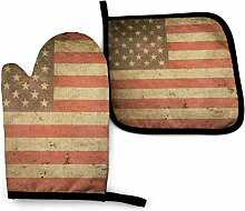 Bikofhd Retro amerikanische Flagge T amerikanische
