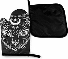 Bikofhd Wicca Wicca Black Cat Moon Kokopelli Elch