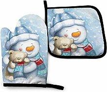 Bikofhd Winter niedlichen Schneemann Weihnachten
