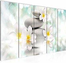 Bild Blumen Feng Shui Kunstdruck Vlies
