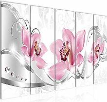 Bild Blumen Orchidee Kunstdruck Vlies Leinwandbild