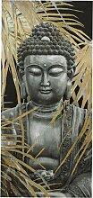 Bild Buddha mit Palmblätter ca. 150/70/3 cm
