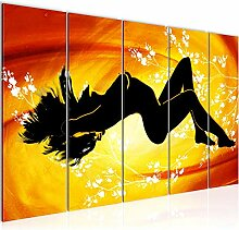 Bild Erotisch Frau Kunstdruck Vlies Leinwandbild
