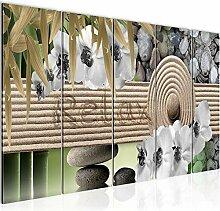 Bild Feng Shui Relax Kunstdruck Vlies Leinwandbild