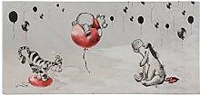 Bild Keilrahmen Disney Winnie Puuh Kinder grau