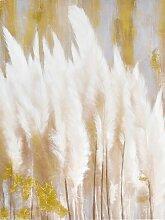 Bild mit goldfarbenen Effekte von Hand aufgetragen
