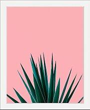 Bild Pflanze 30x40 cm bunt Bilder mit Rahmen