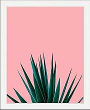 Bild Pflanze 40x50 cm bunt Bilder mit Rahmen