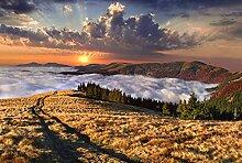 BILD TAPETE PAPERMOON, Landschaft mit Bergen