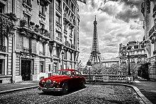 BILD TAPETE PAPERMOON, Pariser Eiffelturm ,VLIES