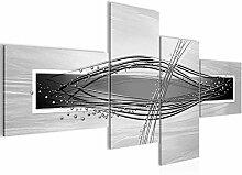 Bild XXL Abstrakt 200 x 100 cm Kunstdruck Vlies