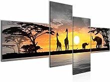 Bild XXL Afrika Sonnenuntergang 200 x 100 cm