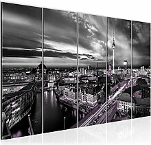 Bild XXL Berlin Skyline Kunstdruck Vlies