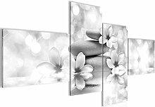 Bild XXL Blumen Feng Shui 200 x 100 cm Kunstdruck