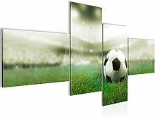 Bild XXL Fussball 200 x 100 cm Kunstdruck Vlies