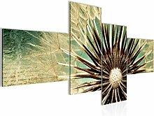 Bild XXL Pusteblume 200 x 100 cm Kunstdruck Vlies