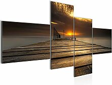 Bild XXL Sonnenuntergang 200 x 100 cm Kunstdruck