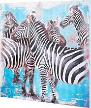Bild Zebra, schwarz
