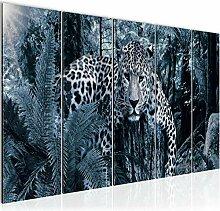 Bilder Afrika Leopard Wandbild 150 x 60 cm Vlies -