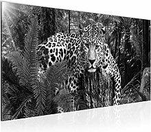Bilder Afrika Leopard Wandbild Vlies - Leinwand