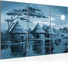 Bilder Afrika Massai Wandbild 120 x 80 cm - 3
