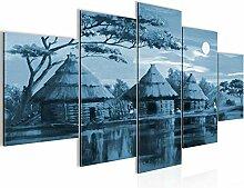 Bilder Afrika Massai Wandbild 200 x 100 cm Vlies -