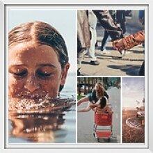 Bilder auf Forex als Collage im Format 24 x 18 cm
