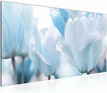 Bilder Blumen Tulpen Wandbild Vlies - Leinwand