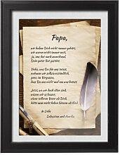 Bilder im 2er Set – Gedicht für Mama und Papa
