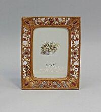 Bilder-Rahmen Blütendekor