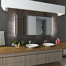 Bilderdepot24 Beleuchteter LED Spiegel Badspiegel Wandspiegel mit Beleuchtung - Gelsenkirchen - 100x70 cm - LED