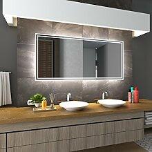 Bilderdepot24 Beleuchteter LED Spiegel Badspiegel