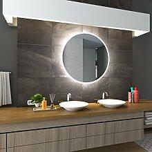 Bilderdepot24 Beleuchteter LED Spiegel Badspiegel Wandspiegel mit Beleuchtung - Essen - 100x60 cm - LED