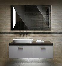 Bilderdepot24 Beleuchteter LED Spiegel Badspiegel Wandspiegel mit Beleuchtung - 120x70 cm 3P-LED