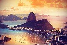 Bilderdepot24 Fototapete selbstklebend Copacabana