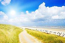 Bilderdepot24 Fototapete selbstklebend Nordsee