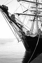 Bilderdepot24 Fototapete selbstklebend Segelschiff