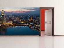 Bilderdepot24 Fototapete selbstklebend Singapur -