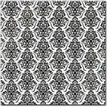 Bilderdepot24 Glasbild, Glasbild - Florales Muster
