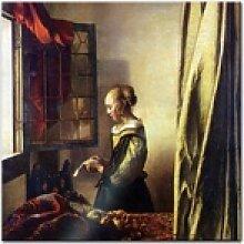 Bilderdepot24 Glasbild, Glasbild Jan Vermeer -