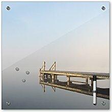 Bilderdepot24 Memoboard 40 x 40 cm, Landschaft -
