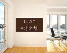 Bilderdepot24 Selbstklebende Tafelfolie braun