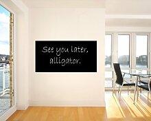 Bilderdepot24 Selbstklebende Tafelfolie schwarz