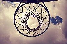 Bilderdepot24 Vlies Fototapete - Basketballkorb -