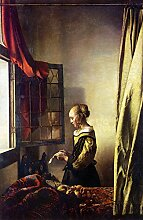 Bilderdepot24 Vlies Fototapete Jan Vermeer - Alte