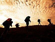 Bilderdepot24 Vlies Fototapete - Wanderer im