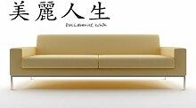 Bilderdepot24 Wandtattoo Chinesische Zeichen ( Das Leben ist schön ) - Qualitätsware direkt vom Hersteller